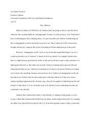 this i believe essay