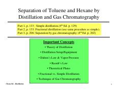 Lab2 - Distillation 1 slide per page