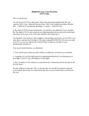 XYZ Corp - Benford Law Case Exercise - Instructions(1)
