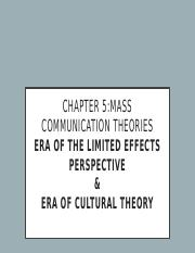 Chapter 5 com 1101  mass comm theory(1).pptx