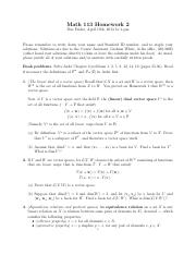MATH 113 Problem Set 2 with Solutions