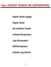 10 Register Transfer & Microoperations.ppt