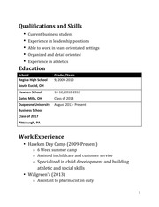 Resume Project