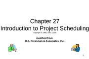 IntroductionToProjectScheduling