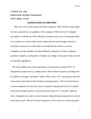 Classification of computers Paper2.docx
