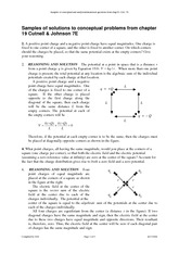 Sample problems Chap 19 Cutnell