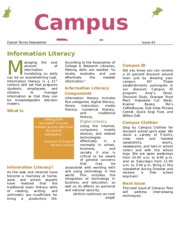 Capmus Post Newsletter