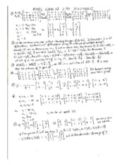 EXAM 1A 200 SOLUTIONS