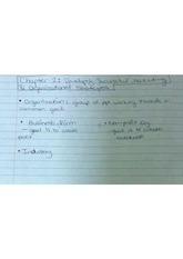 MKTG 3131 Developing Successful  Organizational and Marketing Strategies Class Notes