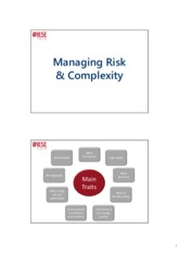 Risk & Complexity