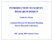 surveydesign