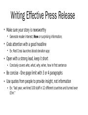 Writing Effective Press Release.pptx