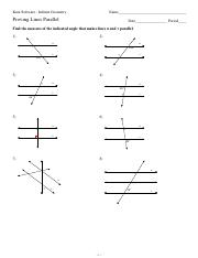 Worksheet Geometry Worksheet Answers the distance formula worksheets with answers tocheck kuta software 4 pages proving parallel lines worksheets