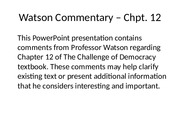 Watson_Chpt12_comments