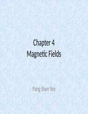 51275_Chapter 4 Magnetic Fields