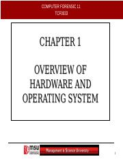 CHAP1-OVERVIEW OF HARDWARE AND OS.ppt
