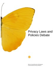 Privacy Laws and Policies Debate