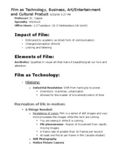 CTCS_Film as Technology
