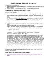 English 304_Homework 3_Annotated Bibliography and Identifying Foreign Elements(2).docx