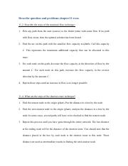 Describe question and problems chapter11 even_Guangyu Gao