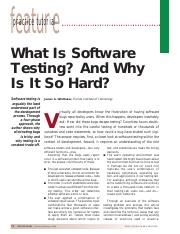 Whatissoftwaretesting