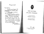 11. Tolkien Selected Letters