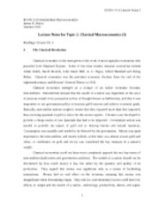 ECON 1110 Lecture Notes 02