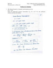MSE 308 Problem Set 3 Solutions