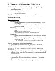 SPT Chapter 6 Notes
