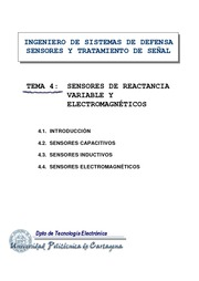 Sensores de Reactancia Variable y Electromagneticos