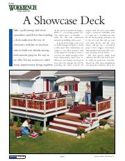 A Showcase  Deck