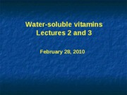 WaterSolubleVitamins-Posted