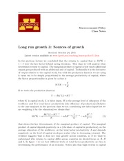 LEC7 Source of Growth