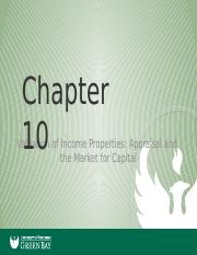Real Estate Principals Chapter 10