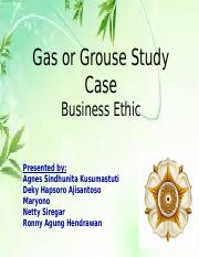Gas or Grouse Study Case - FINAL.pptx