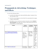 Propaganda Website Activity