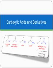 2211 Lecture 6 Carboxylic Acids Fall 16 Student