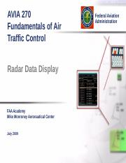 09a Radar Data Display.ppt