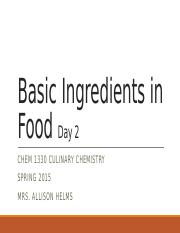 Module 3 Basic ingredients in food day 2.pptx