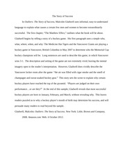 "outliers book review essay Essay writing help   outliers review - book report/review example comments (0)  ""outliers book review report/ example."