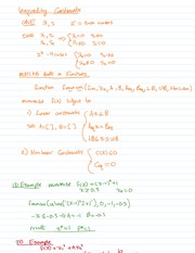 Inequality Constants Notes