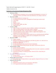 Study Guide and Example Questions SCM 371.docx- filled up
