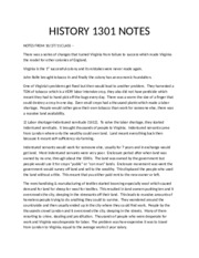 history 1301 notes History 1301 study guides chapter 1 summary (powerpoint) chapter 2 summary (powerpoint) chapter 3 summary (powerpoint) chapter 4 summary (powerpoint.