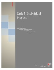 Unit 5 individual Project.docx
