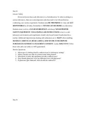 Safety Summary and Questions.docx