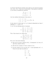 Linear Algebra Solutions 29