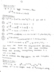 Complex Numbers 13