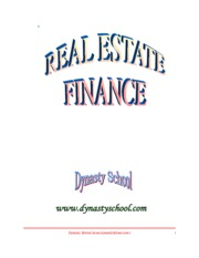 real estate finance - full book (500 pgs)