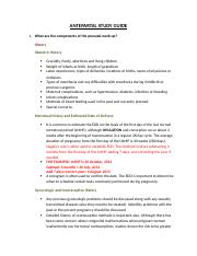 ANTEPARTAL STUDY GUIDE.docx