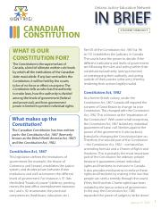 In Brief_STUDENT_Canadian Constitution